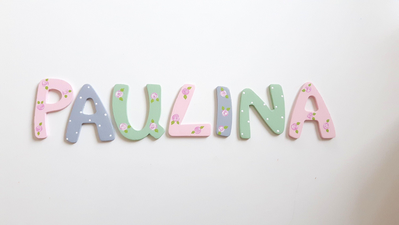 Holzbuchstaben, Türbuchstaben, Kinderzimmertür, Buchstaben