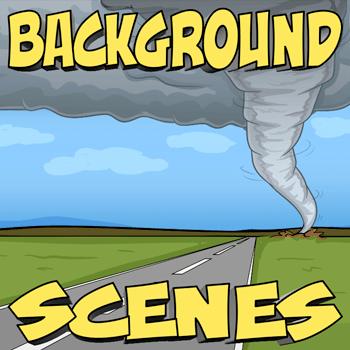 Background Scenes   CrazyTalk Animator   Cartoon background