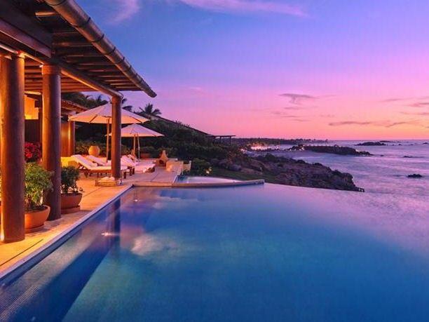 Villa di lusso sul mare a punta mita messico favorite places