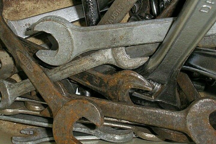 Remove Rust From Old Tools Great Ideas Pinterest Cleaning