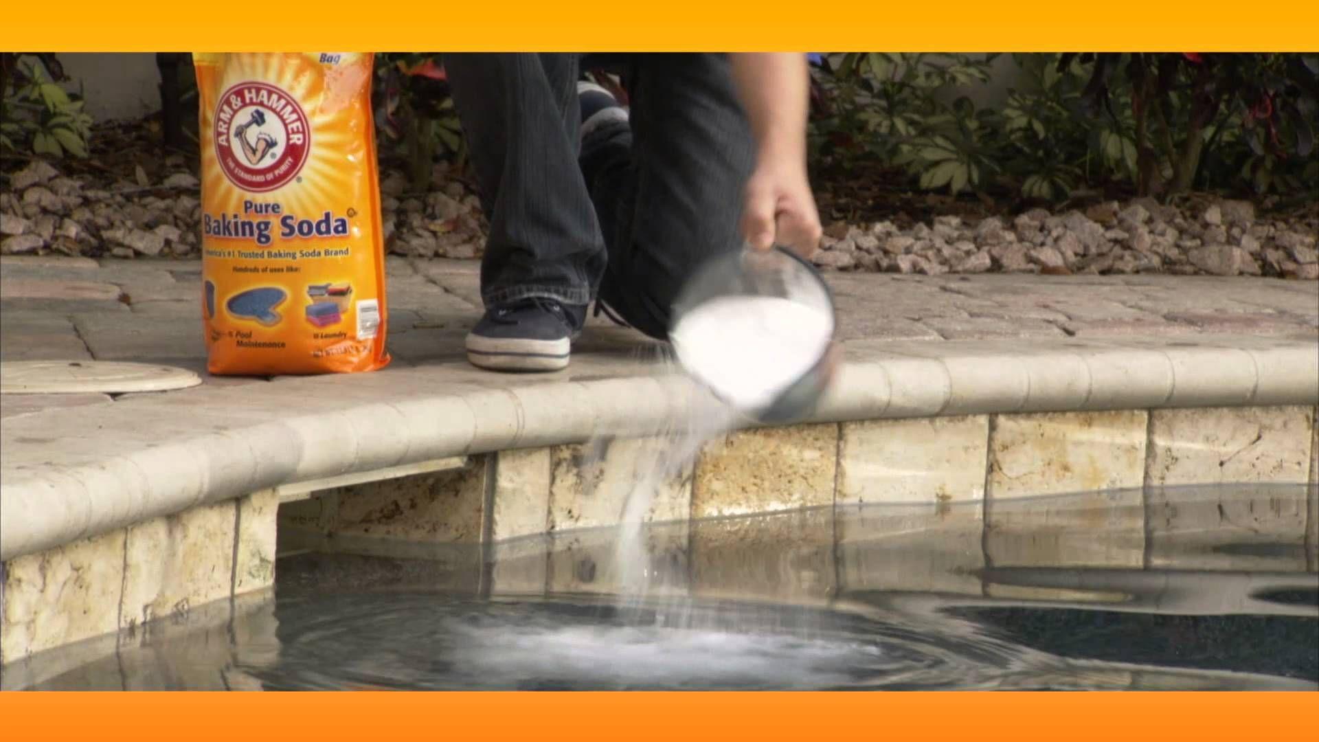Balancing pool ph naturally baking soda solutions http