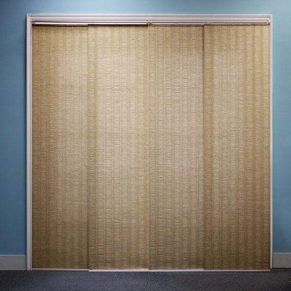 Chicology Adjustable Sliding Panel, Beach - Natural Woven, Privacy - cortinas para terrazas