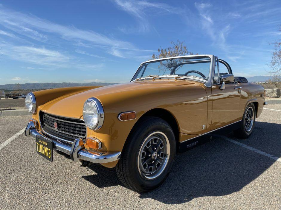 1971 mg midget in 2020 mg midget classic cars british cars