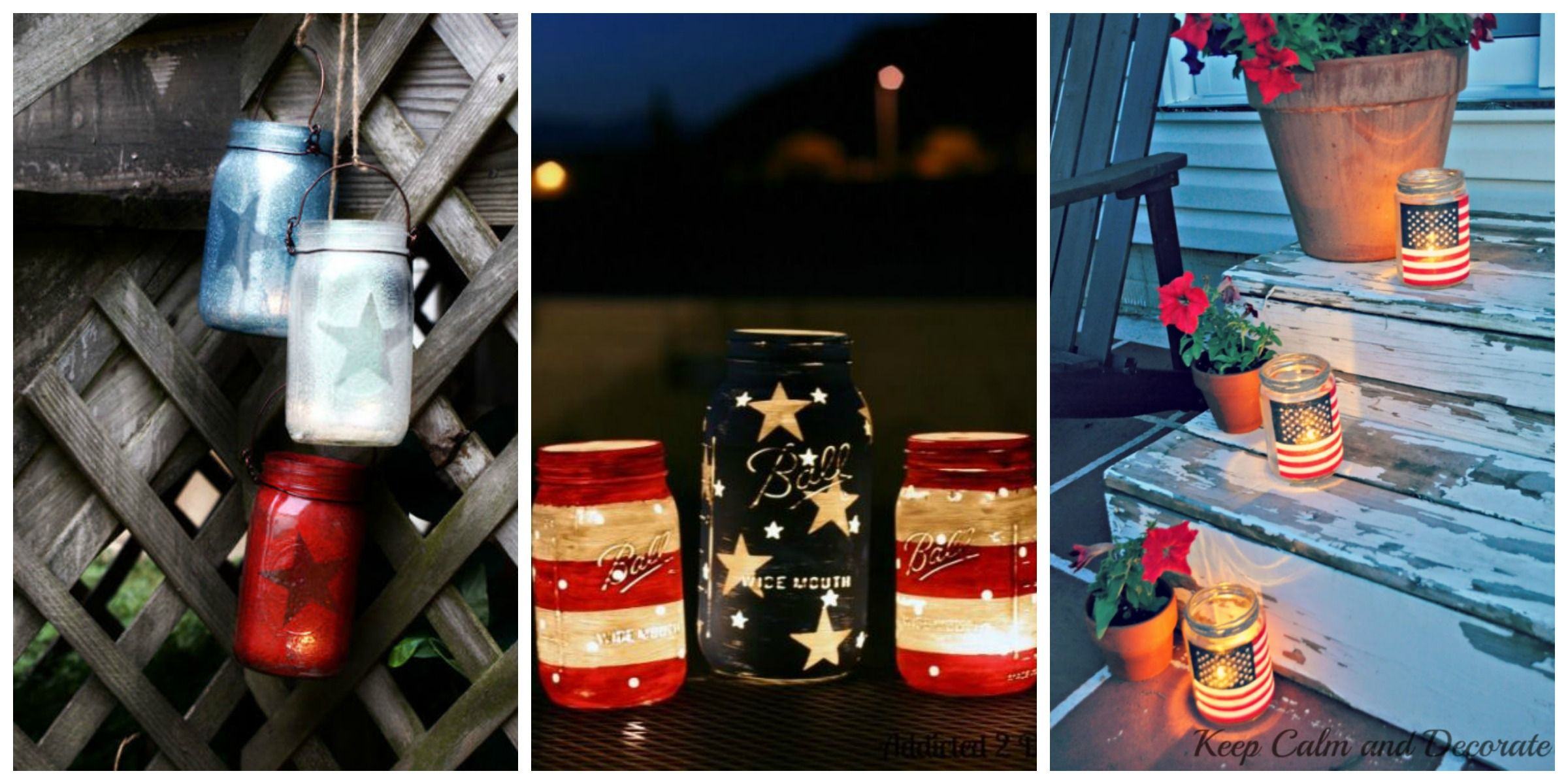 patriotic starspangled ways to use mason jars mason jar