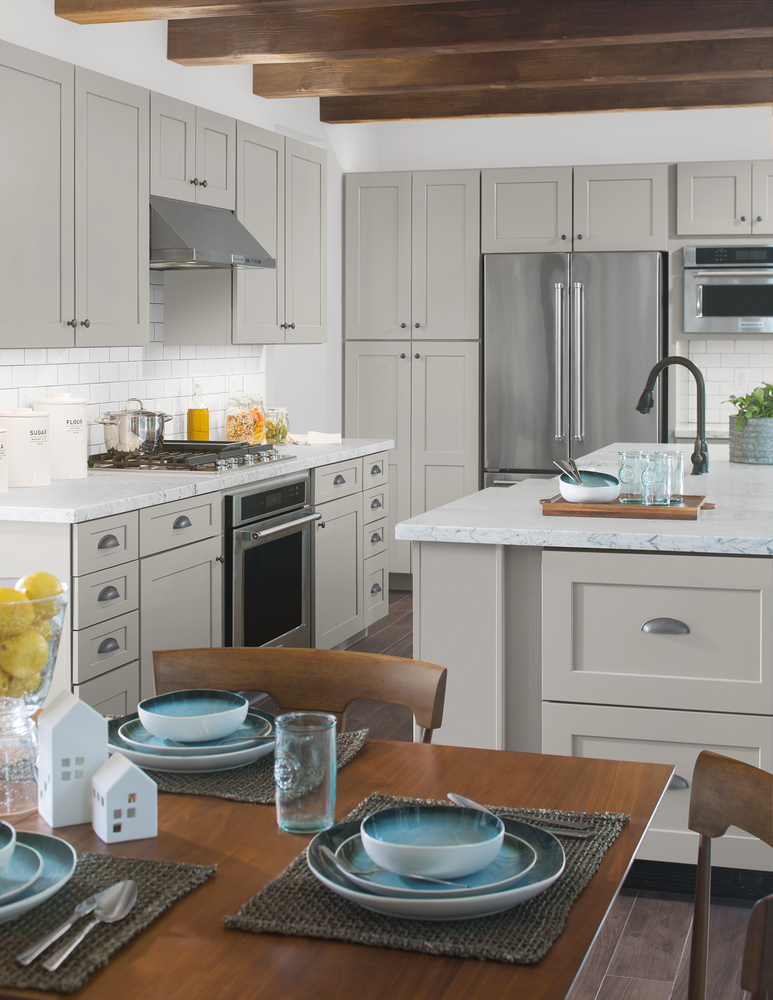 New Haven Painted Stone Cabinetry From 84 Design Studios Kitchen Cabinet Inspiration Kitchen Kitchen Cabinets