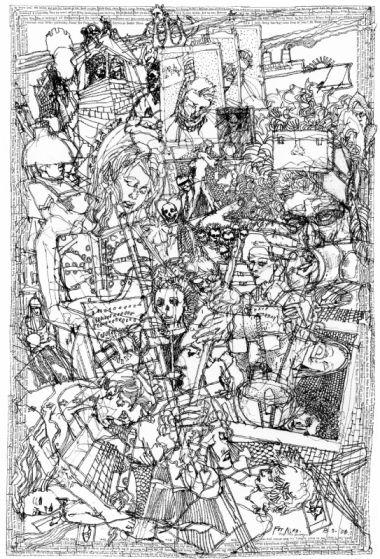 Barron Storey drawing