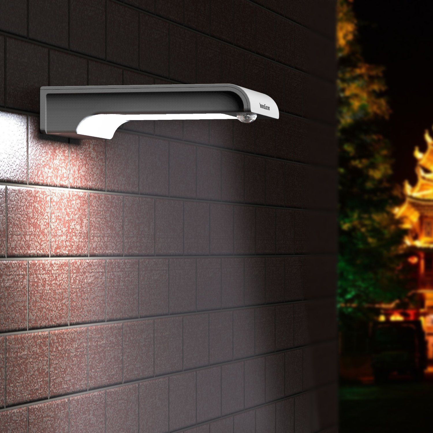 Amazon.com : Upgraded Motion Sensor Light, InnoGear® 20 LED Solar ... for Wall Foot Light  565ane