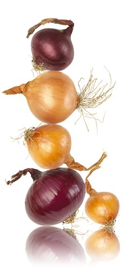 How an onion a day keeps the doctor away
