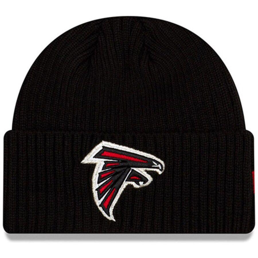 Youth Atlanta Falcons New Era Black Core Classic Cuffed Knit Hat Your Price 23 99 New Era Knitted Hats Atlanta Falcons