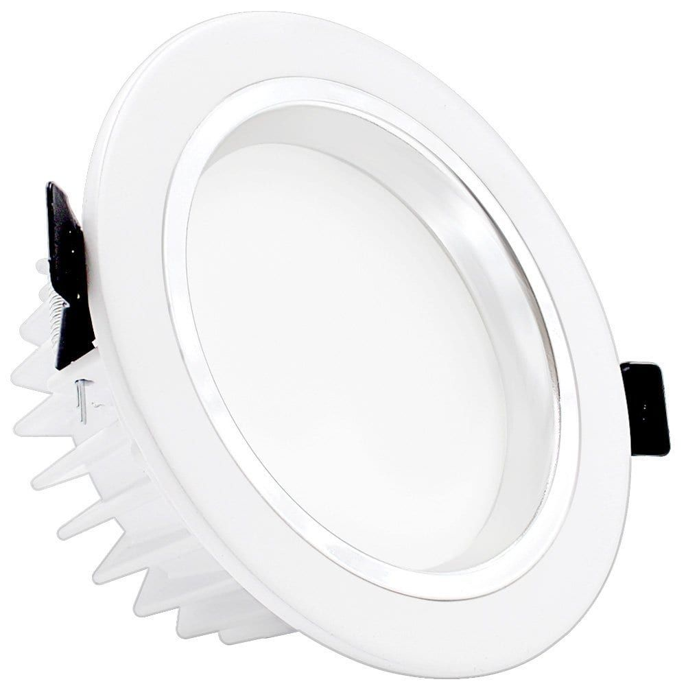 12w 4 inch dimmable led retrofit recessed light 90w halogen 12w 4 inch dimmable led retrofit recessed light 90w halogen equivalent led downlight3000k aloadofball Images