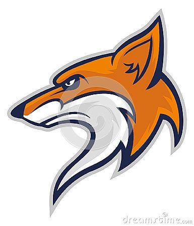 Fox Head Mascot Fox Logo Design Art Logo Animal Logo