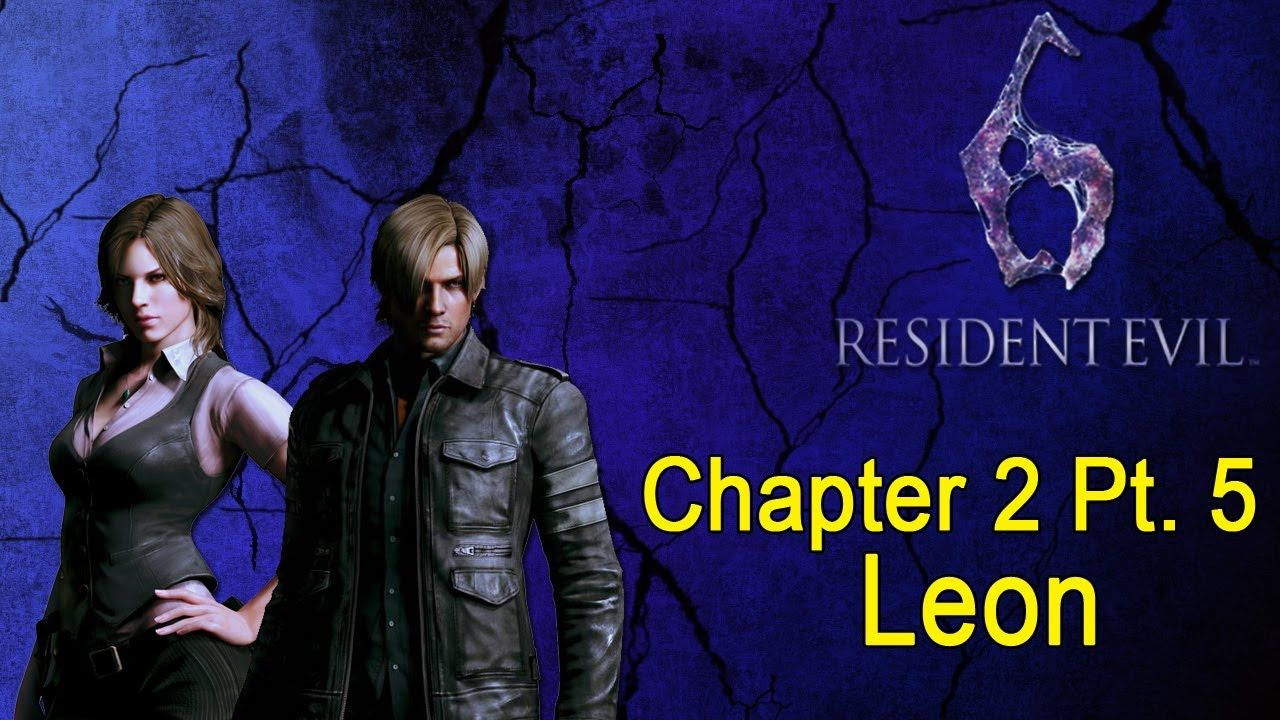 Resident Evil 6 Walkthrough Leon Chapter 2 Pt 5 5 With Images