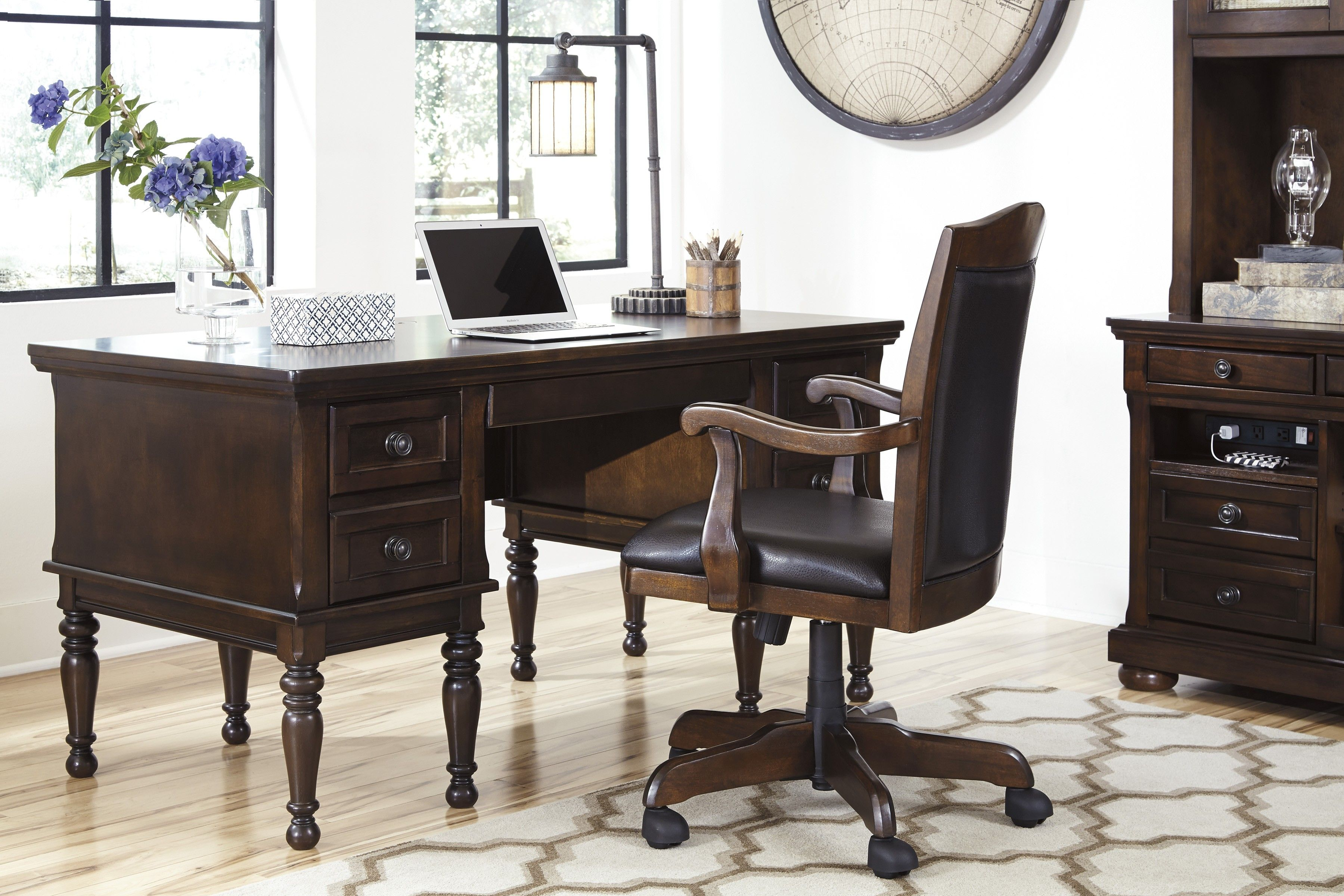 Signature Design By Ashley Porter Home Office Desk Home Office Furniture Sets Liberty Furniture Furniture