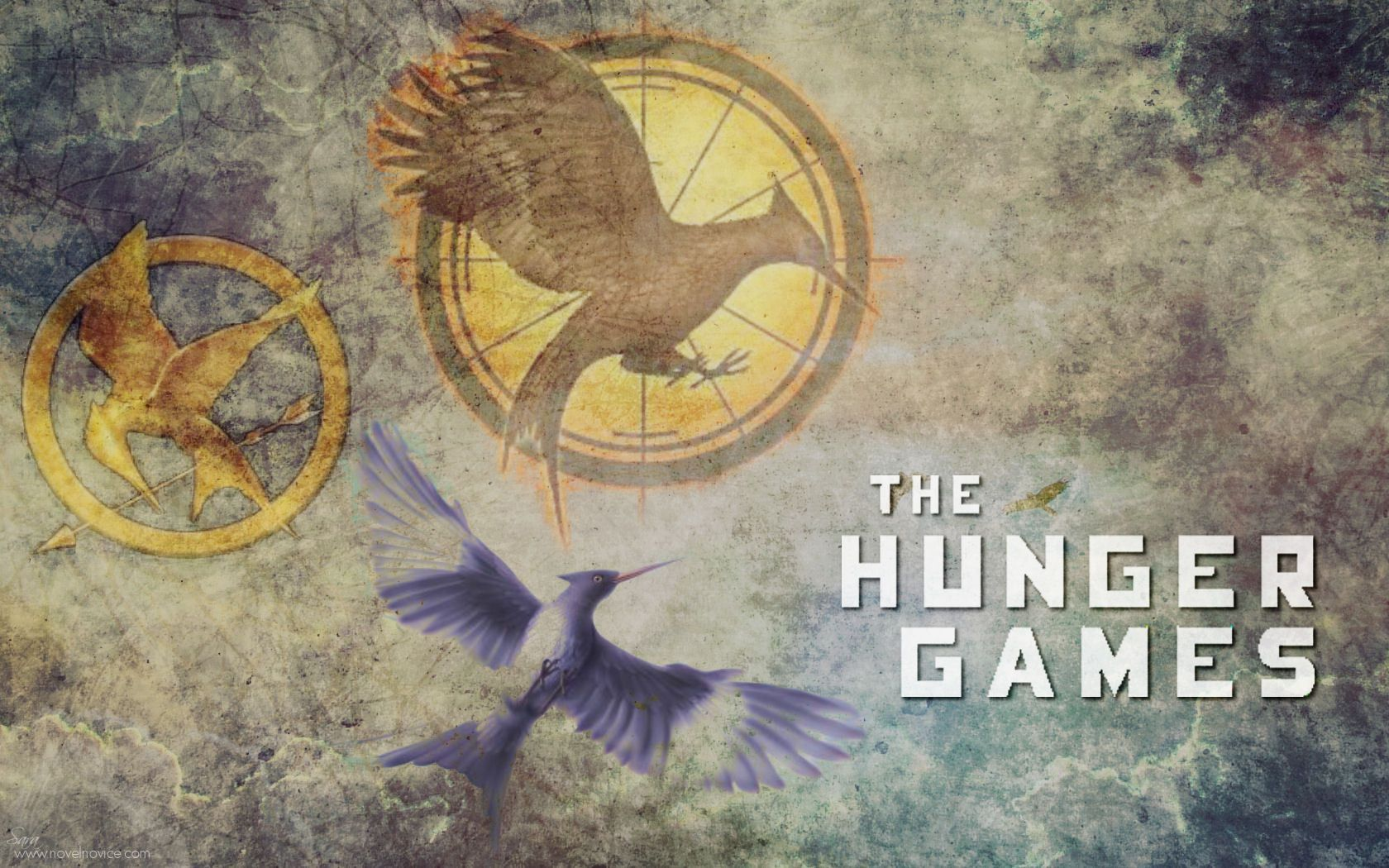 The hunger games catching fire hd wallpapers backgrounds 1680 all three of the hunger games books are the best that you will ever read voltagebd Choice Image