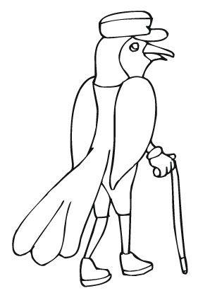 ausmalbild edler vogel zum ausmalen. #ausmalbilder   #