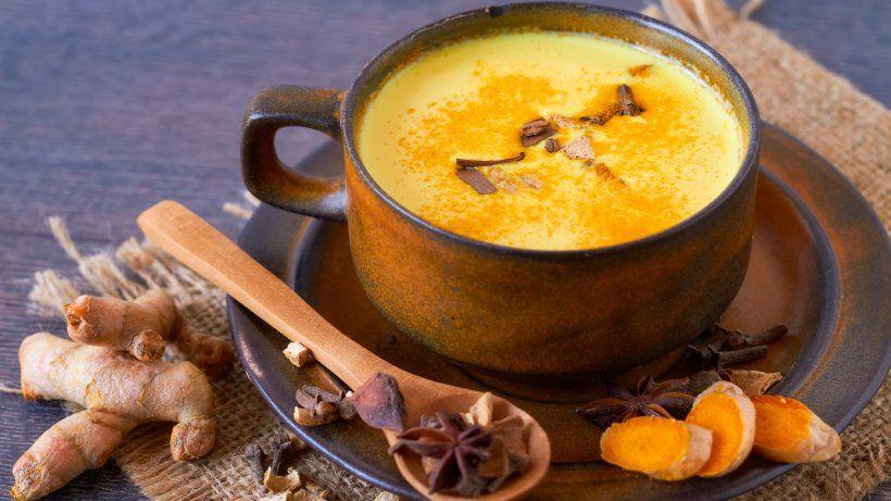 Goldene Milch Als Alternative Zum Kaffee | Rezept | Ayurvedische