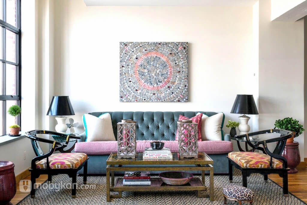 ديكورات و الوان شقق افكار و نصائح لاختيار افضل الديكورات من موبيكان Apartment Decor Apartment Living Room House Interior