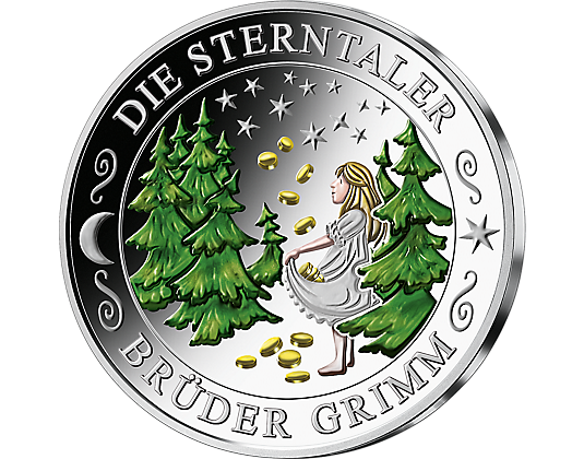 Silberprägungen Lieblingsmärchen Mdm Deutsche Münze Ommabienes
