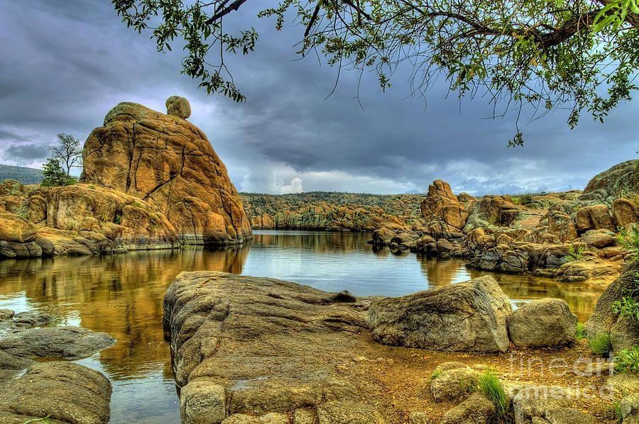 Watson Lake Prescott Arizona Print By K D Graves Prescott Arizona Arizona Landscape Prescott