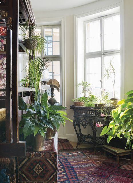 The Eclectic Stockholm home of....... Daphne and Rolf | From Moon to Moon | Bloglovin'