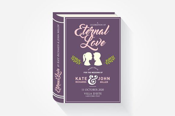 storybook wedding invitation card wedding card templates