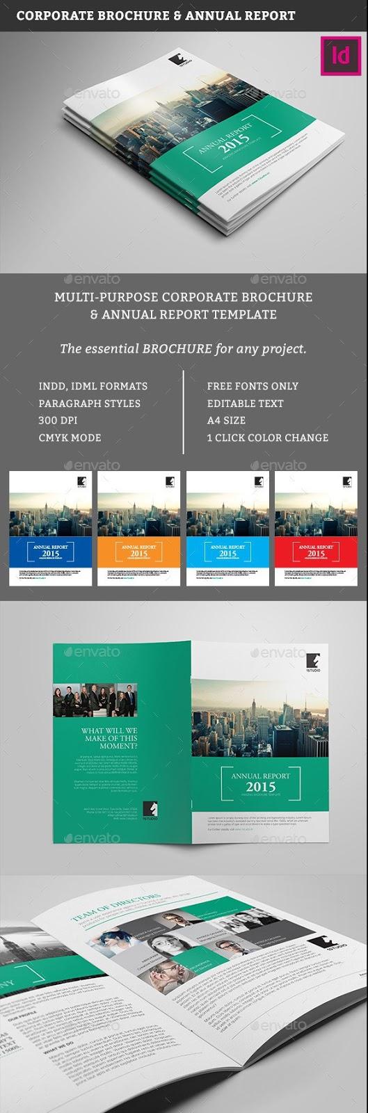 100+ Free & Premium Brochure Templates Photoshop PSD InDesign & AI ...