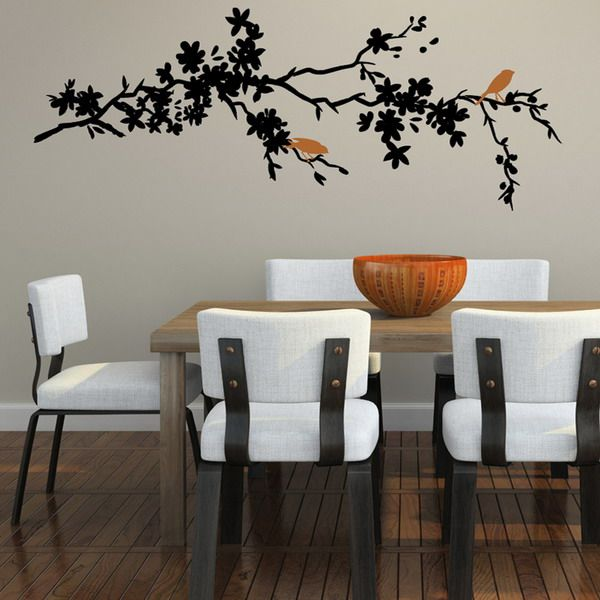 Like The Color Birds Idea  For The Home  Pinterest  Dining Room New Pictures For Dining Rooms Walls Inspiration Design