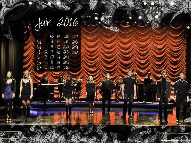Calendrier Juin 2016 #Glee #theScientist https://www.hypnoseries.tv/glee/