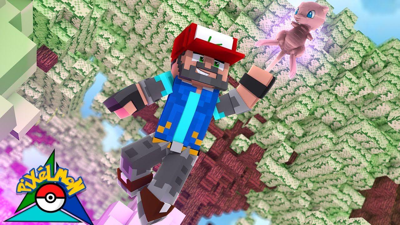I CAUGHT MEW!!!!!!!!! [#20] | Minecraft: Pokémon Trinity