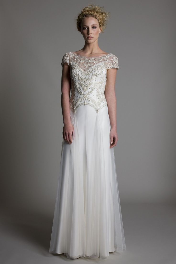 New 20s Inspired Wedding Dresses Check more at http://svesty.com/20s ...