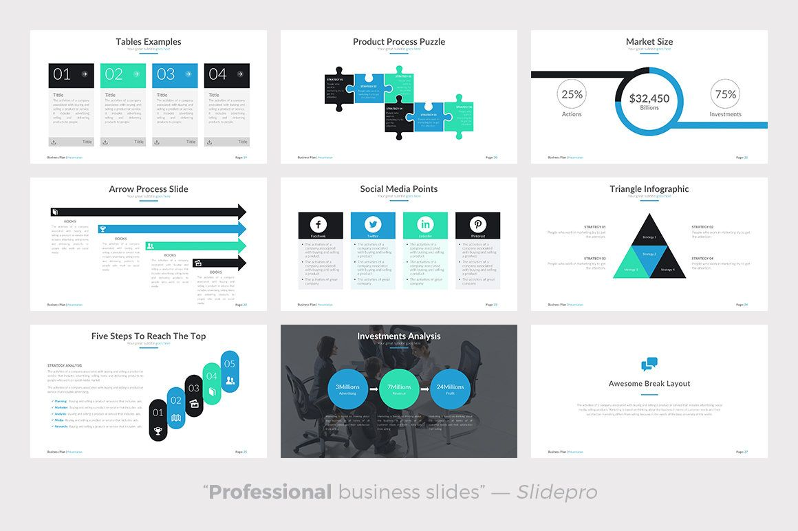 Are you needing a business plan Powerpoint template? Present your ...