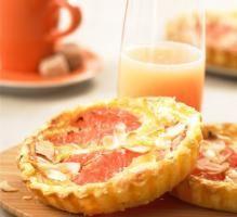 Recette - Tartelettes aux pamplemousses de Floride - Proposée par 750 grammes