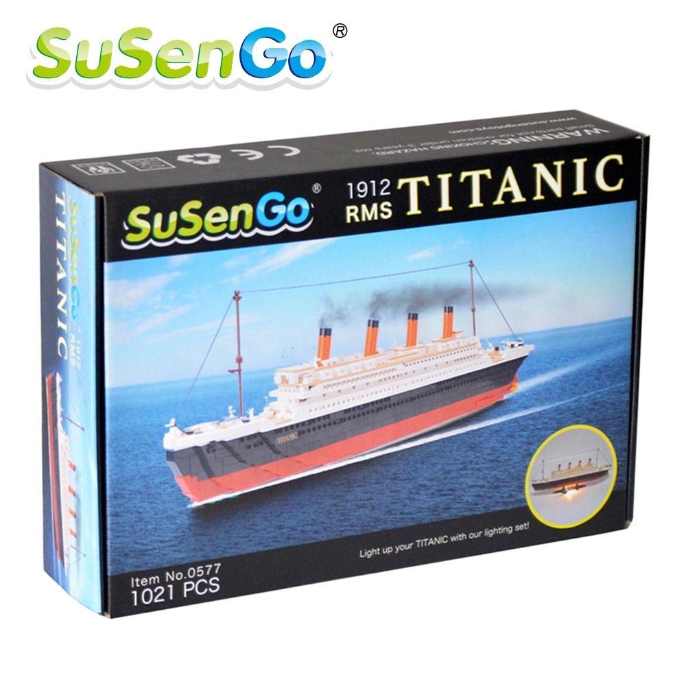 SuSenGo Pcs Cruise RMS Titanic Ship Boat D Model Educational - Educational cruise ships