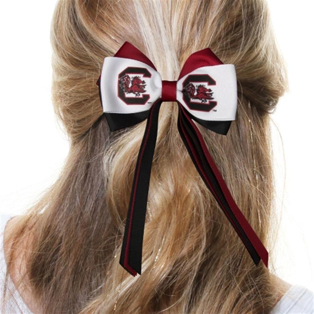 South Carolina Gamecocks Women's Mini Streamer Hair Bow