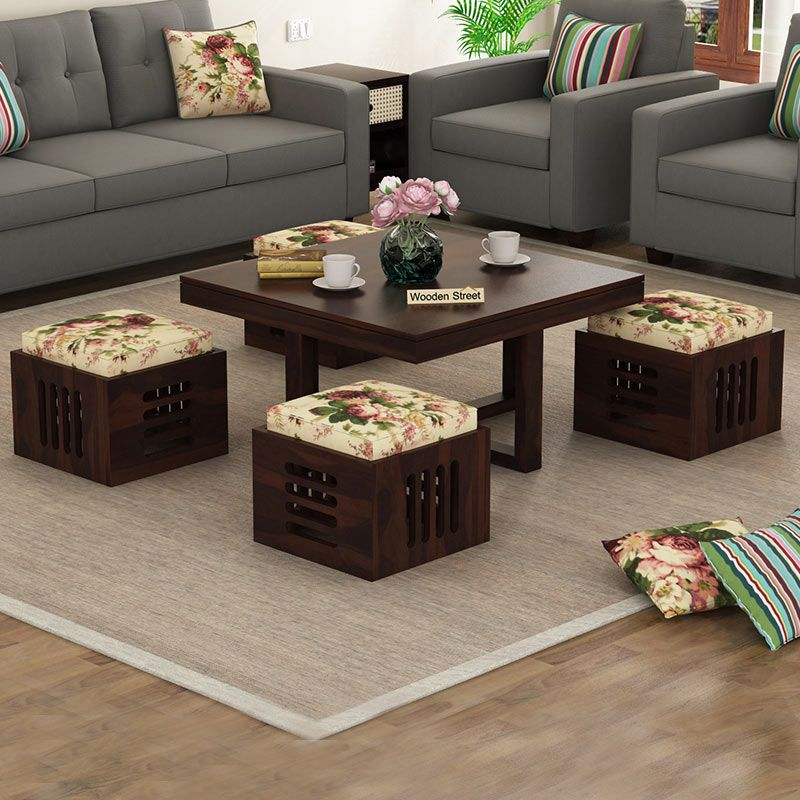 Best Buy Petlin Coffee Table Walnut Finish Online In India In 400 x 300