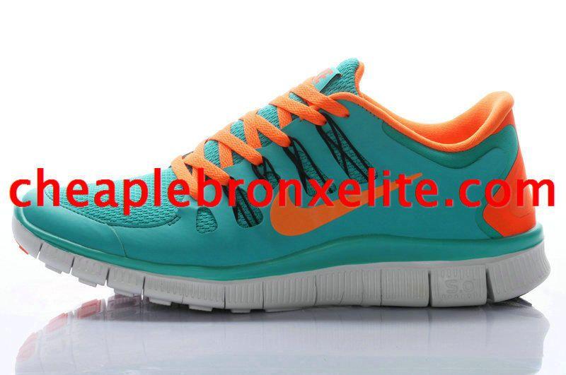 86b0e761d873 Turquoise Nike Free 5.0 Mens Orange