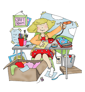 Messy Craft Room Yes A More Realistic View Lol Free Dearie