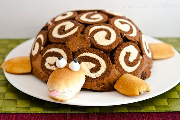 la tortuga gertrudis una tarta de cumpleaos famosa