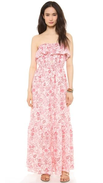 Juicy Couture Ibiza Ruffle Maxi Dress | fashionista | Pinterest ...