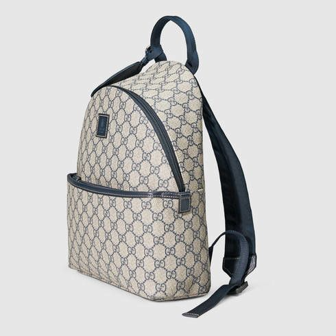 1d46e5dc852ab Gucci Children s Gg Supreme Backpack in Natural