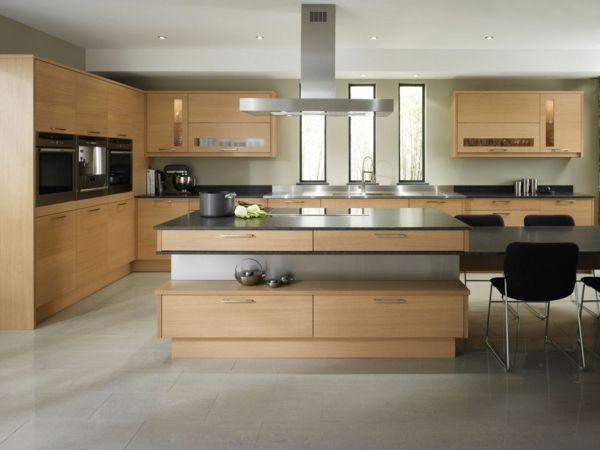 k chen einrichten so kann man k chen mit insel einrichten k chen k che wandgestaltung. Black Bedroom Furniture Sets. Home Design Ideas