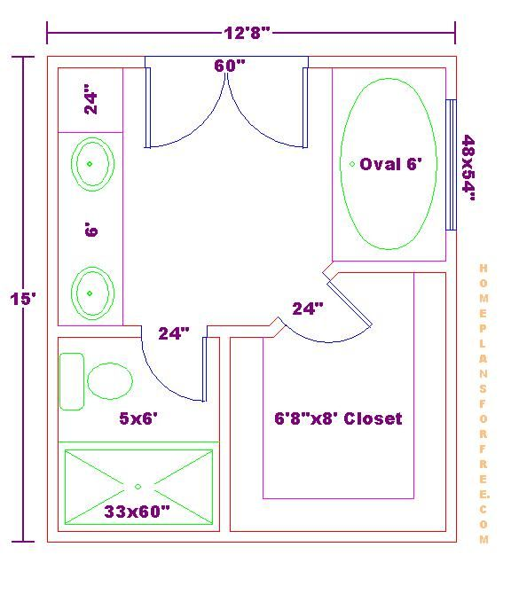 Best Floor Plan 12X15 Master Bath 040610 Jpg Click Image To 400 x 300
