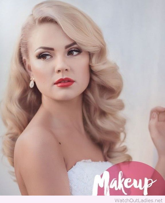 Wedding Day Makeup Or Hair First : Beautiful blonde hair and makeup for the wedding day ...