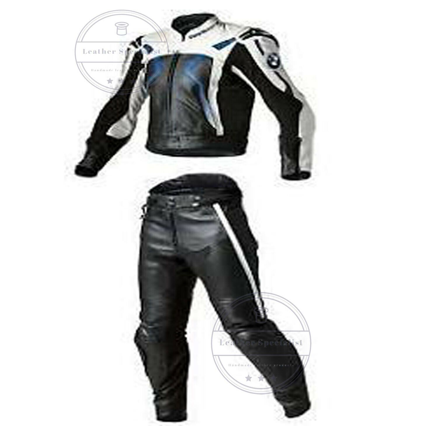 Men Bmw Motorcycle Leather Suit Racing Sports Motorbike Leather Jacket Trouser Suits Motorcycle Leathers Suit Motorcycle Outfit Mens Pants Fashion