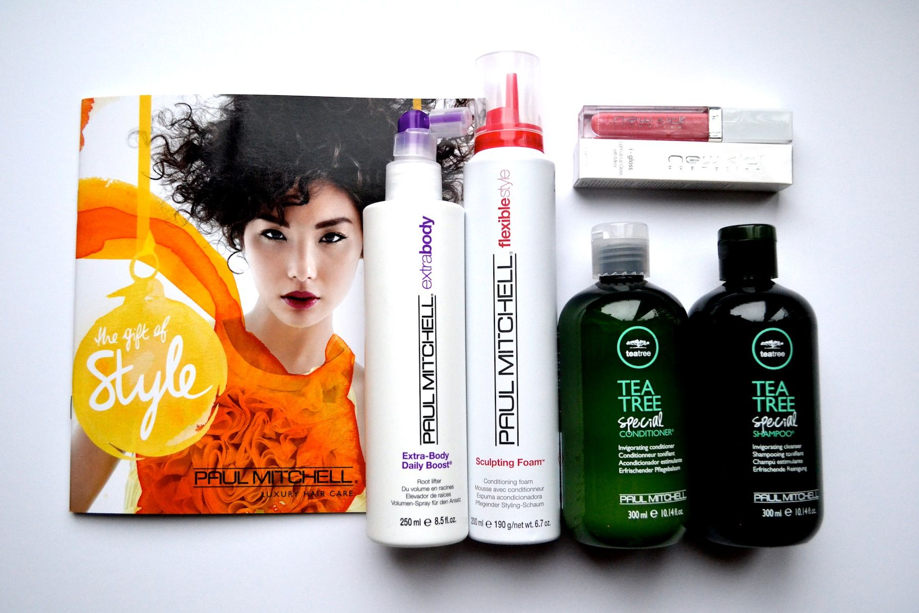 Paul Mitchell Gift of Style Evening gary hedley newcastle blo dry styling bar goodie bag