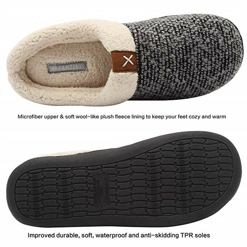 c078efdd0bac Mens Warm Velvet Lined Winter Cotton Slippers Home Indoor Flat Floor Shoes  US 12  fashion  clothing  shoes  accessories  mensshoes  slippers (ebay  link)