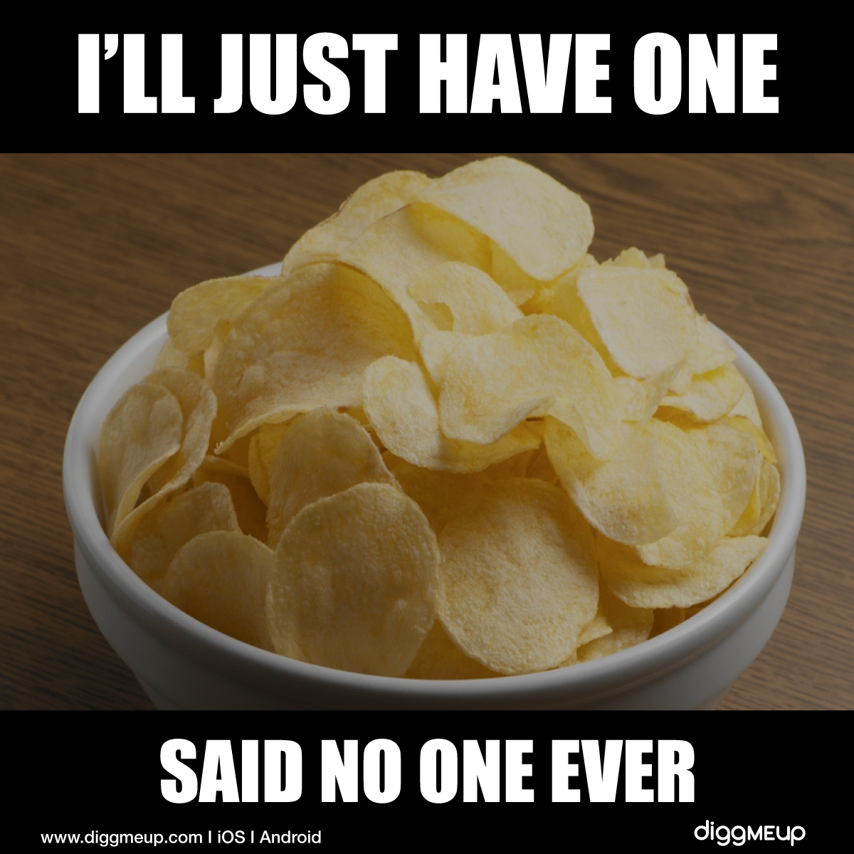 I'll Have One, Said No One Ever! 🍟 #PotatoChipDay # ...