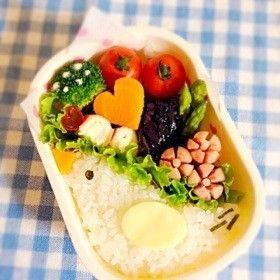 キャラ弁✳︎かんたん小鳥ご飯❤︎