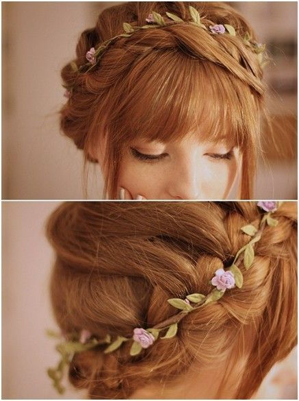 Braided Updos For Long Hair Prom Hairstyles