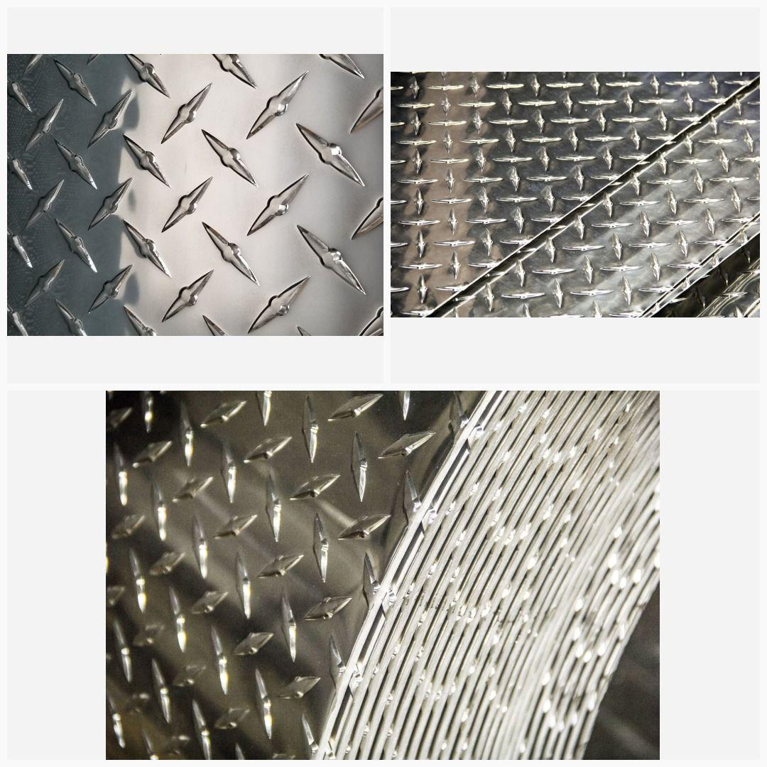 3003 Aluminum Diamond Tread Plate Sheet 0 063 X 12 X 12 Sheet Aluminum Aluminium Sheet